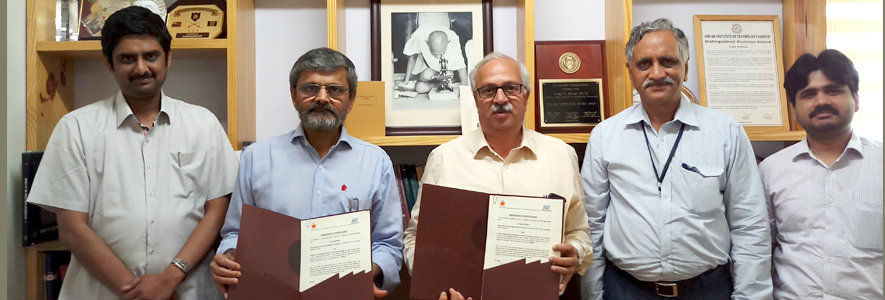 IITH and IDRBT sign an MoU